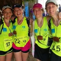 L'équipe des Gazelles Montgeardines: toujours le sourire!!!